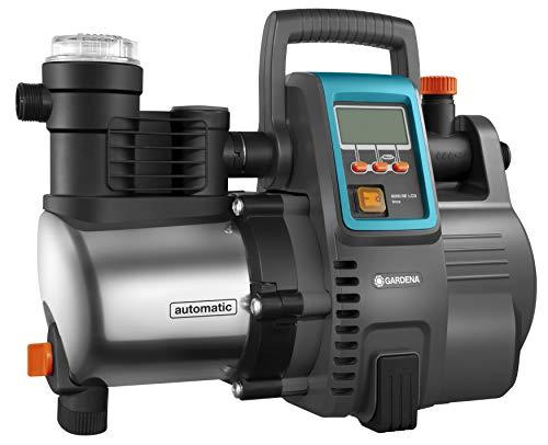 Gardena Premium Hauswasserautomat 6000/6E LCD Inox: Hauswasserpumpe mit 6000 l/h Fördermenge, 1300 W Motor, mit...