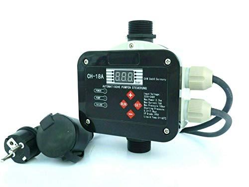 CHM GmbH Digitale vollautomatische Pumpensteuerung CH20 mit Sensor Technologie ! Master-Chip und Drucksensor steuern das...
