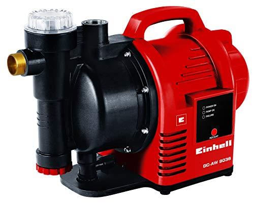 Einhell Hauswasserautomat GC-AW 9036 (900W, 4,3 bar Druck, 3600 l/h Fördermenge, Vorfilter, Rückschlagventil, autom....
